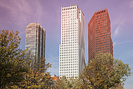 Netherlands, Den Haag, High-rise buildings - WI001195