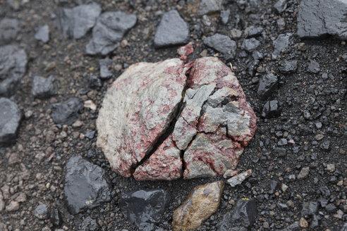 Iceland, Thorsmoerk, broken lava rock - ATAF000060