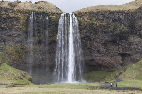 Iceland, Seljalandsfoss, waterfall - ATAF000069