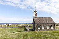 Iceland, Hvalnes, view to little church - ATAF000061