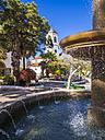 Spain, Canary Islands, La Palma, San Andres Los Sauces, church Nuestra Senora de Montserrat - AMF003575