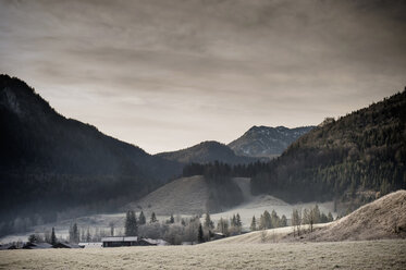 Germany, Bavaria, Berchtesgadener Land, rural landscape - MJ001459
