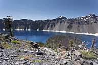USA, Oregon, Crater Lake National Park, Crater Lake - NNF000155