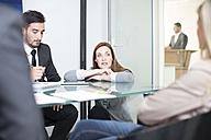 Business meeting in boardroom - ZEF003123