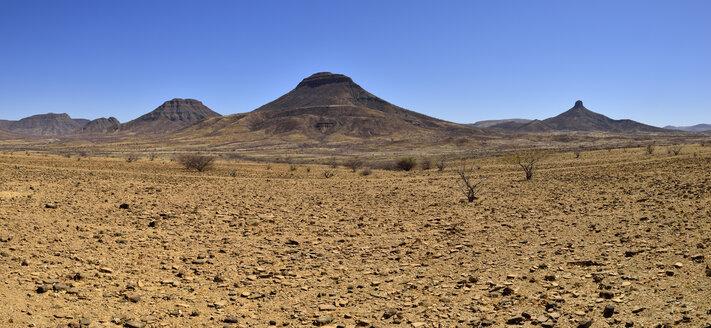 Africa, Namibia, Kunene Province, Kaokoland, Namib Desert, Toennesenberge - ESF001510