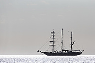 Pacific Ocean, sailing ship at Galapagos Islands - FOF007558