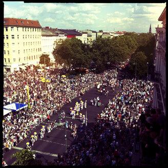 carnival of the cultures, crowded, street, party, berlin, friedrichshain, kreuzberg, berlin, germany - LUL000155