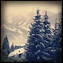 sonnberg, snow, mountains, landscape, salzburger land, sonnberg, austria - LUL000163