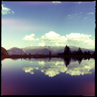 lake, mountains, landscape, mirror, reflection, telfes, tirol, austria - LUL000171