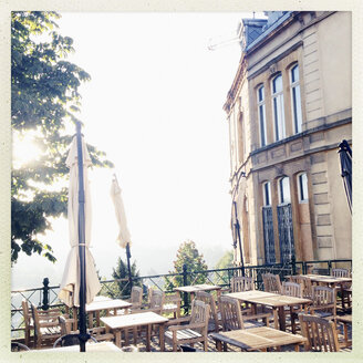 Luxembourg, cafe at Rue du Nord - SEF000855