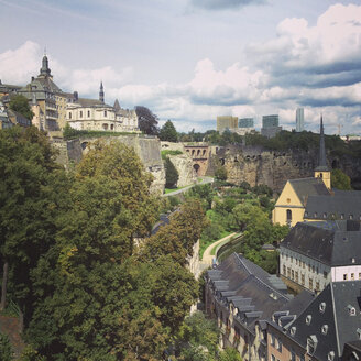 Luxembourg, cityscape of district Grund - SEF000873
