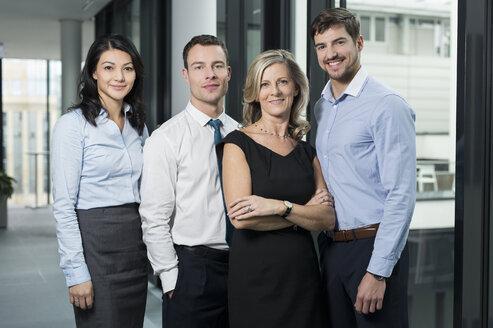 Portrait of confident businesspeople - SHKF000215