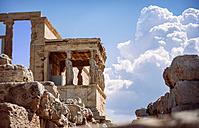Greece, Athens, ancient porch of caryatides - EHF000077