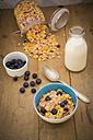 Glutenfree muesli with blueberries - LVF002597