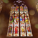 Germany, Cologne Cathedral, stained-glass window - GW003613