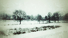 Grermany, Landshut, Snow covered landscape - SAR001370