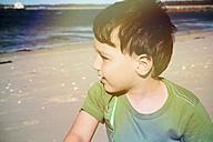 Boy at Cronulla Beach, Cronulla, New South Wales, Australia - SBD001651