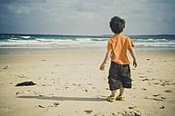 Boy on Cronulla beach, New South Wales, Australia - SBD001668