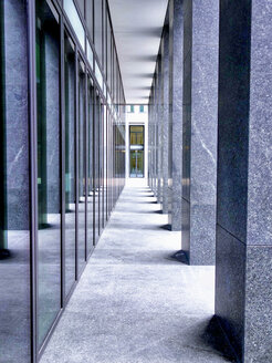 Switzerland, Zurich, passageway of modern building - SEGF000218
