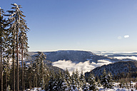 Germany, Baden-Wuerttemberg, Mummelsee in winter - JUNF000169