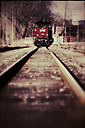 Locomotive on tracks - CST000776