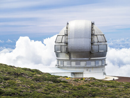 Spain, Canary Islands, La Palma, Observatory at Roque de los Muchachos, Gran Telescopio Canarias - AM003631