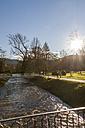 Germany, Baden-Baden, River Oos, Lichtentaler Allee - JUNF000193