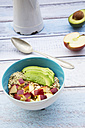 Avocado apple muesli with hemp seeds - LVF002642