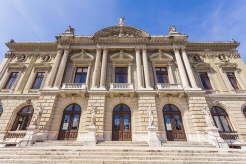 Switzerland, Geneva, Place Neuve, Opera House - WD002835