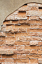 Italy, Veneto, Venice, brickstone wall - GWF003846