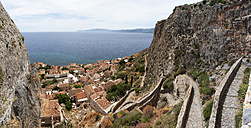 Greece, Monemvasia, townscape - WWF003480