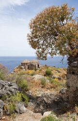 Greece, Monemvasia, Byzantine Church Hagia Sophia - WWF003493