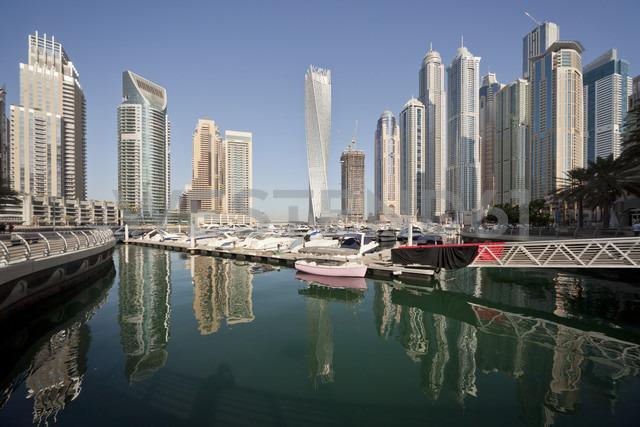 UAE, Dubai, view to skyscrapers at Dubai Marina - PCF000022