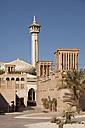 UAE, Dubai, Al Bastakiya district with Bastakiya Mosque - PCF000039