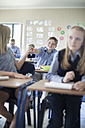 Pupils in classroom - ZEF004961