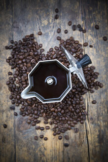 Espresso can and coffee beans - LVF002700