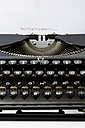 Old black typewriter - MAEF009492