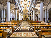 Italy, Sicily, Modica, interior view of Chiesa di San Pietro - AM003672