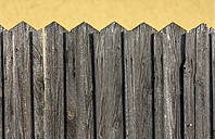 Wooden fence - EJW000653
