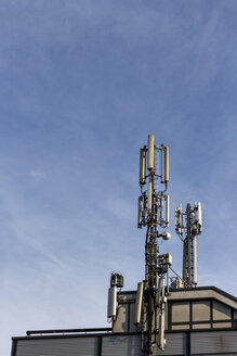 Mobile phone base station on roof top - EJW000658