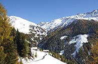 Austria, East Tyrol, Kals am Grossglockner, Hohe Tauern, mountain farm - WWF003596