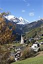 Austria, Carinthia, Heiligenblut am Grossglockner, Hohe Tauern, Grossglockner - WWF003557