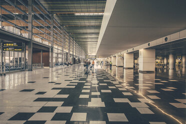 Spain, Canary Islands, hall on the airport of Gran Canaria - MF001452