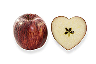 Heart-shaped apple - AMF003721