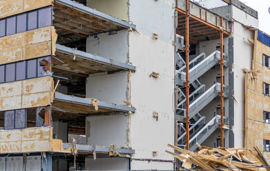 Austria, Linz, demolition of an office building - EJW000667