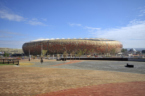 Africa, South Africa, Johannesburg, Soweto, Soccer City Stadium - FLKF000564