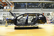 Production of VW cars in a factory - SCH000458