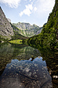 Germany, Bavaria, Berchtesgaden, Lake Obersee near Koenigssee - ZC000196