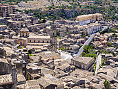 Italy, Sicily, Modica, view to the city from above - AMF003759