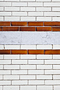 Belgium, Flanders, Blankenberge,  tiled facade, close-up - GWF004482